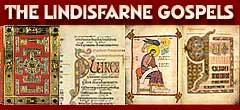 Holy Island - the birthplace of the Lindisfarne Gospels.